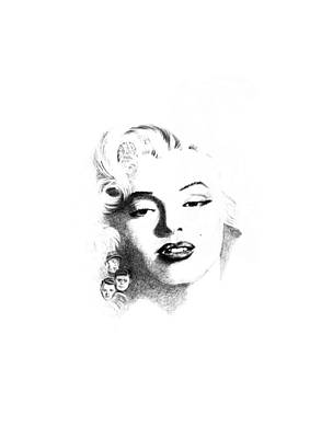 Marilyn  Print by John Barnard