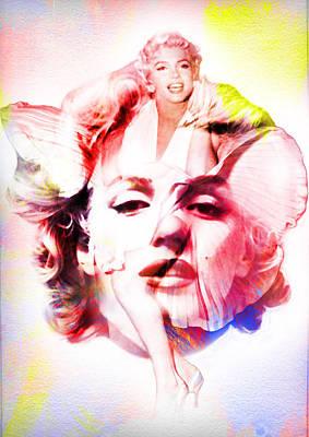 Marilyn Monroe Painting - Marilyn Monroe Art by Diana Van