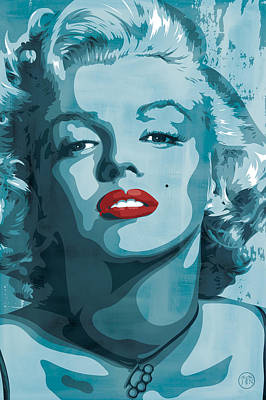 Actors Digital Art - Marilyn Monroe by Jeff Nichol