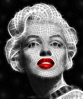 Marilyn Monroe Print by Pamela Johnson