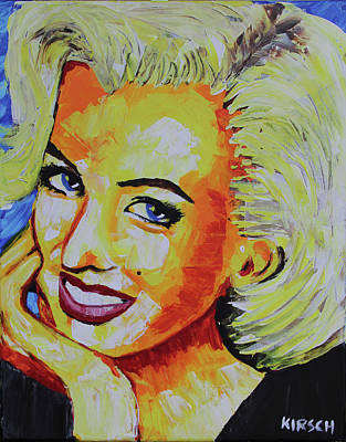 Marilyn Monroe Original by Robert Kirsch