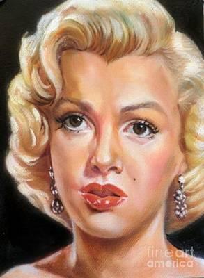 Munroe Painting - Marilyn Monroe by Blackwater Studio