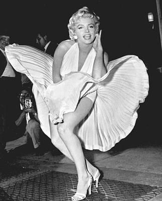 Marilyn Monroe - Seven Year Itch Print by Georgia Fowler