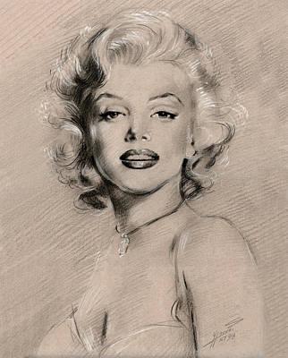 Marilyn Monroe Original by Ylli Haruni