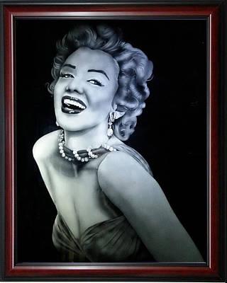 Marilyn Smile Original by Harish Dewani