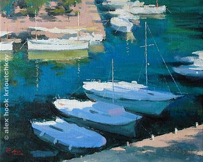 Marina 16 Print by Alex Hook Krioutchkov