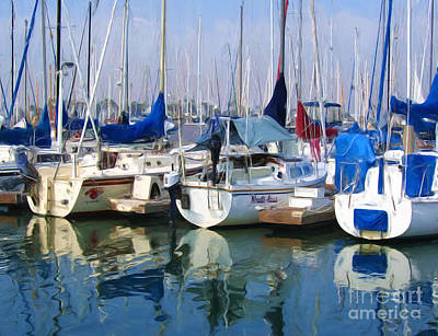Marina Print by Tom Griffithe