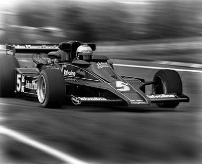 Andretti Photograph - Mario by Mike Flynn