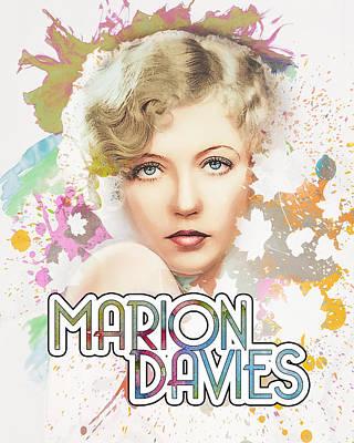 Digital Art - Marion Davis - Spring by Darlanne