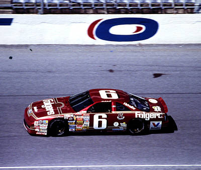 Daytona 500 Photograph - Mark Martin 1990 Daytona 500 by David Bryant