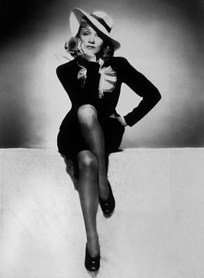 Marlene Dietrich Print by Unknown