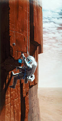 Ambition Photograph - Mars: Exploration by Granger