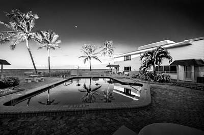 Gulf Front Pool Photograph - Mars Poolside by Gene Camarco