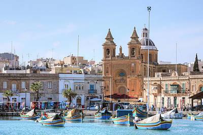 Malta Photograph - Marsaxlokk - Malta by Joana Kruse