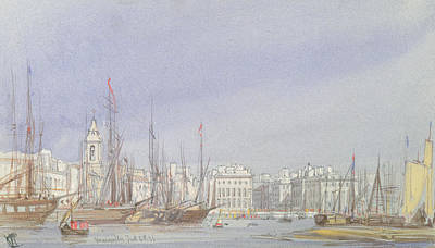 Marseilles Print by William Callow