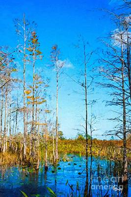 Painting - Marsh Moments by Tammy Lee Bradley