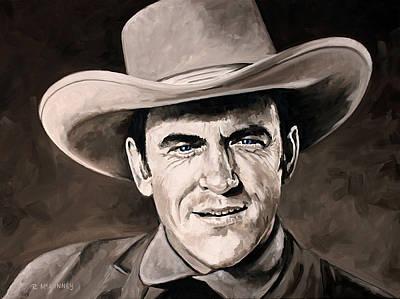 Marshal Dillon Original by Rick McKinney