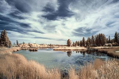 Mountain Photograph - Marshlands In Washington by Jon Glaser