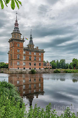 Outlook Photograph - Marsvinsholms Castle In Sweden by Antony McAulay