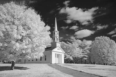Martha And Mary Chapel Print by James Walsh