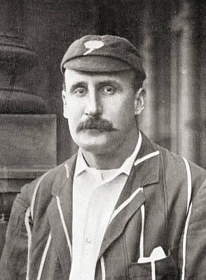 Cricket Drawing - Martin Bladen Hawke, 7th Baron Hawke Of by Vintage Design Pics