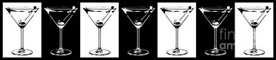 Martini Photograph - Martini Party by Jon Neidert