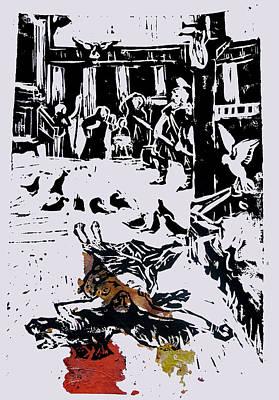 Martyr 1 Print by Adam Kissel