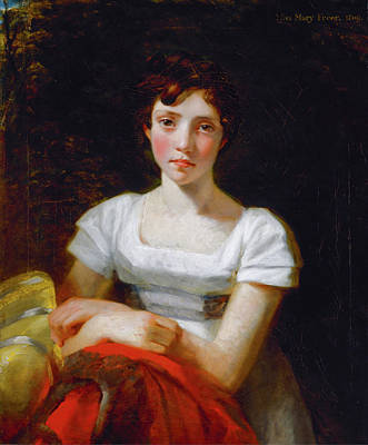 English Painting - Mary Freer by John Constable