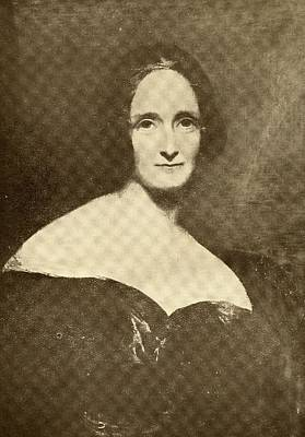 Mary Wollstonecroft Shelley, 1797-1861 Print by Vintage Design Pics
