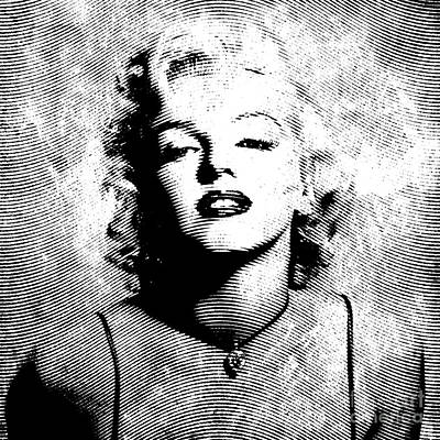 Lips Digital Art - Marilyn Monroe - 04a by Variance Collections