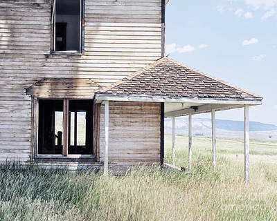 Abandoned Homes Photograph - Mary's House by Alison Sherrow I AgedPage
