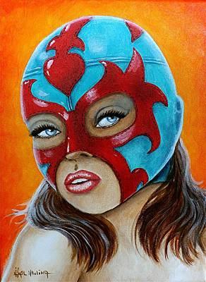 Mascadas 4 Original by Al  Molina