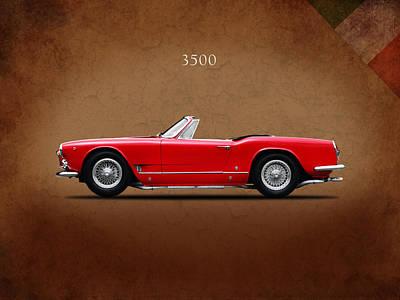 Maserati 3500 Spyder 1959 Print by Mark Rogan