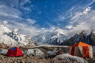 Pakistan Photograph - Masherbrum by Alireza Teimoury
