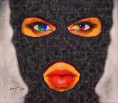 Mask - Da Print by Leonardo Digenio