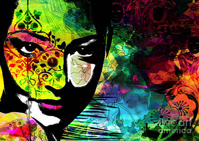 Emotion Digital Art - Masking Ego by Ramneek Narang