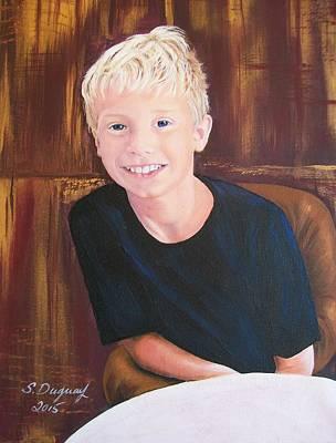 Mason  Original by Sharon Duguay