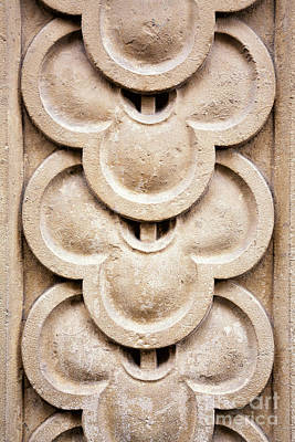 Carving Photograph - Masonry Detail by Jane Rix