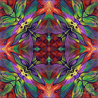 Masqparade Tapestry 7d Print by Ricardo Chavez-Mendez
