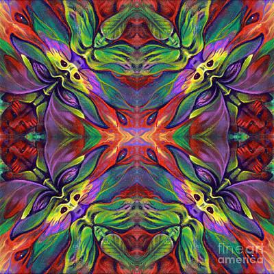 Masqparade Tapestry 7e Print by Ricardo Chavez-Mendez