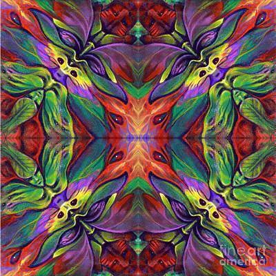 Masqparade Tapestry 7f Print by Ricardo Chavez-Mendez
