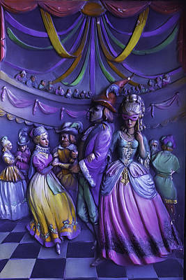 Nola Photograph - Masquerade Ball Mari Gras by Garry Gay