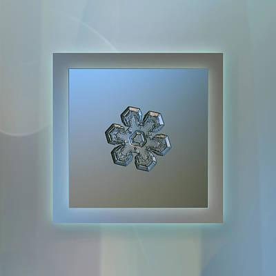 Massive Silver - Pastel Frame Print by Alexey Kljatov