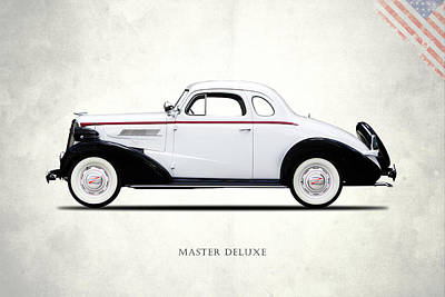 Chevrolet Master Photograph - Master Deluxe Sport 1937 by Mark Rogan