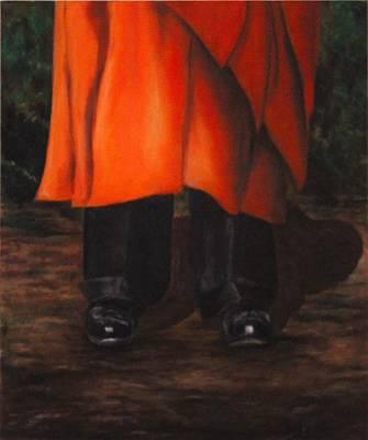 Yogananda Painting - Guruj's Shoes by Rafaela Stoeckley