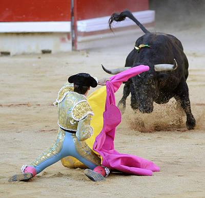 Toro Photograph - Matador Francisco Marco by Rafa Rivas