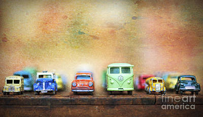 Truck Photograph - Matchbox Toys by Tim Gainey