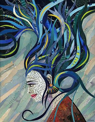 Mosaic Mixed Media - Matriarch by Shawna Rowe
