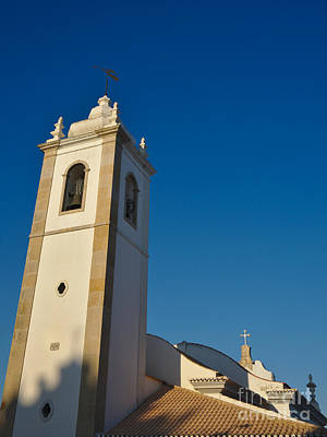 Church Photograph - Matriz Church In Albufeira by Angelo DeVal