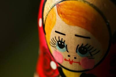Babushka Photograph - Matryoshka Doll by Edward Myers
